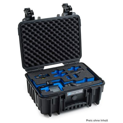 Für weitere Info hier klicken. Artikel: B&W outdoor.cases Type 3000 für DJI Osmo Mobile schwarz