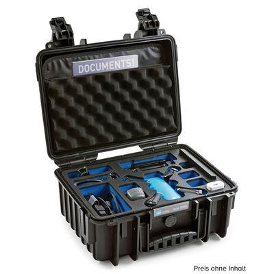 Für weitere Info hier klicken. Artikel: B&W outdoor.cases Type 3000 für DJI Spark Fly More Combo schwarz