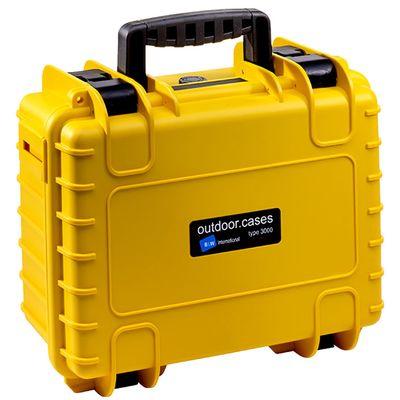 Für weitere Info hier klicken. Artikel: B&W outdoor.cases Type 3000 mit variabler Facheinteilung (RPD) gelb
