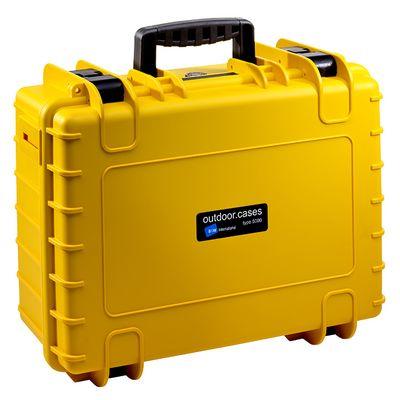 Für weitere Info hier klicken. Artikel: B&W outdoor.cases Type 5000 mit Würfelschaum (SI) gelb