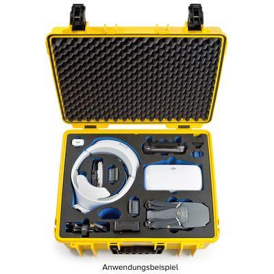 Für weitere Info hier klicken. Artikel: B&W outdoor.cases Type 6000 für DJI Mavic Pro Fly More Combo + DJI Goggles gelb