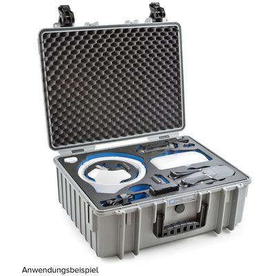Für weitere Info hier klicken. Artikel: B&W outdoor.cases Type 6000 für DJI Mavic Pro Fly More Combo + DJI Goggles grau