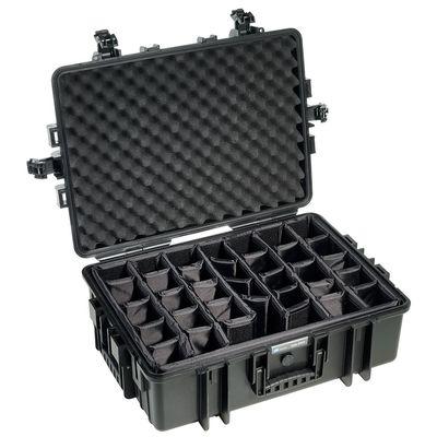 Für weitere Info hier klicken. Artikel: B&W outdoor.cases Type 6500 mit variabler Facheinteilung (RPD) schwarz