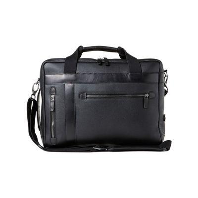 Für weitere Info hier klicken. Artikel: Barber Shop Convertible Bag Undercut -Vorführprodukt- grained black leather