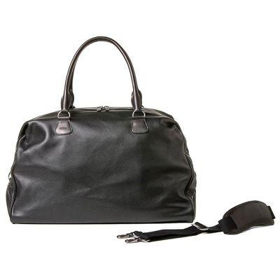 Für weitere Info hier klicken. Artikel: Barber Shop Duffle Bag Cesar Cut grained black leather
