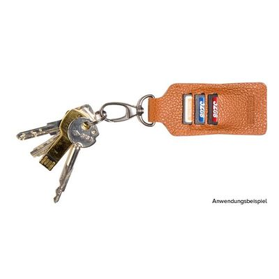 Für weitere Info hier klicken. Artikel: Barber Shop Key chain feat. 3 sd cards slots Clipper dark brown
