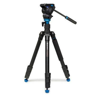 Für weitere Info hier klicken. Artikel: Benro A2883FS4 Aero4 Video Tripod Kit Flip Lock + S4 head