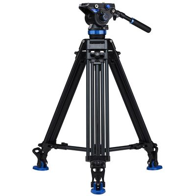 Für weitere Info hier klicken. Artikel: Benro Dreibeinstativ Kit Dual Stage Alum Video Tripod with S8 head - A673TMBS8