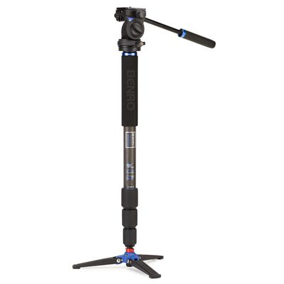 Für weitere Info hier klicken. Artikel: Benro Einbeinstativ Kit Hybrid Monopod Kit Series 3 Carbon 4 sect S2H head - HMMA38CS2H