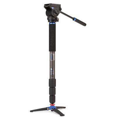 Für weitere Info hier klicken. Artikel: Benro Einbeinstativ Kit Hybrid Monopod Kit Series 4 Carbon 4 sect S4H head - HMMA48CS4H