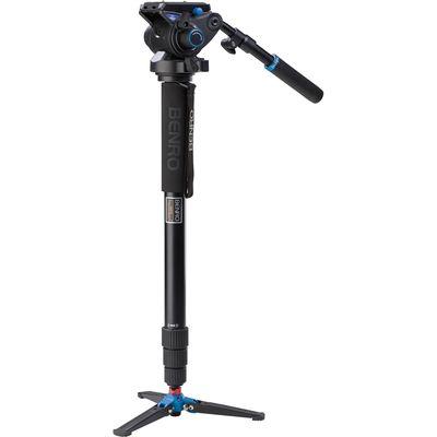 Für weitere Info hier klicken. Artikel: Benro Einbeinstativ Kit Video Monopod Kit Alum Twist with S6 head - A48TDS6