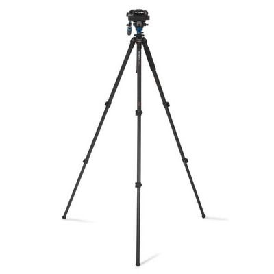 Für weitere Info hier klicken. Artikel: Benro Single Leg Series 2 Carbon Video Kit 3 Sect S6 head - C2573FS6
