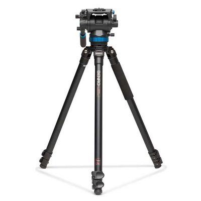 Für weitere Info hier klicken. Artikel: Benro Single Leg Series 3 Alum Video Kit 3 Sect S8 head - A373FBS8