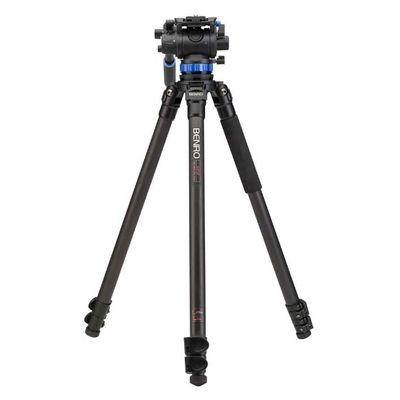 Für weitere Info hier klicken. Artikel: Benro Single Leg Series 3 Carbon Video Kit 3 Sect S7 head - C373FBS7