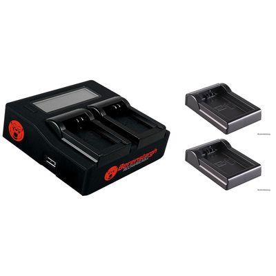 Für weitere Info hier klicken. Artikel: Berenstargh Dual LCD Charger + 2 Stk. Ladeschale für SONY NP-FM50/55