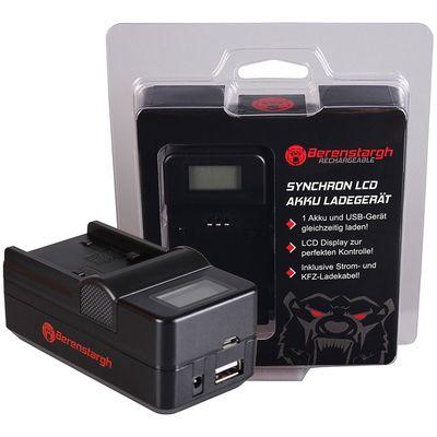 Für weitere Info hier klicken. Artikel: Berenstargh Synchron Ladegerät Sony NP-FP50/NP-FH50/70/100, 8,4V