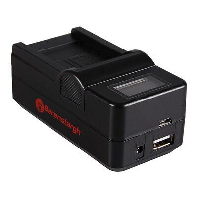 Für weitere Info hier klicken. Artikel: Berenstargh Synchron Ladegerät Panasonic VW-VBK180/VBK360/VBT190/VBT380, 4,2
