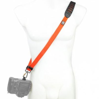 Für weitere Info hier klicken. Artikel: Blackrapid R-Strap Cross Shot Orange - puristischer Kameragurt mit stylischem Design orange