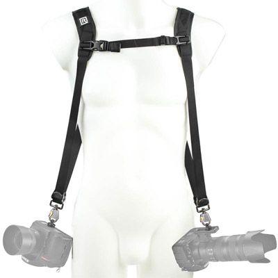 Für weitere Info hier klicken. Artikel: Blackrapid R-Strap Double Slim Breathe Rucksack-ähnliches Doppelgurt-System - schmalere Variante