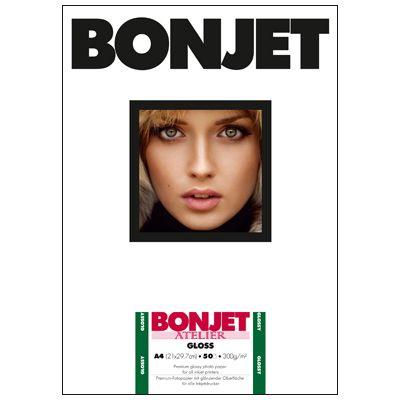 Für weitere Info hier klicken. Artikel: Bonjet ATE Gloss A4 300g 50 Blatt