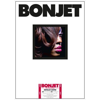 Für weitere Info hier klicken. Artikel: Bonjet ATE Metallic Lustre A3 260g 30 Blatt