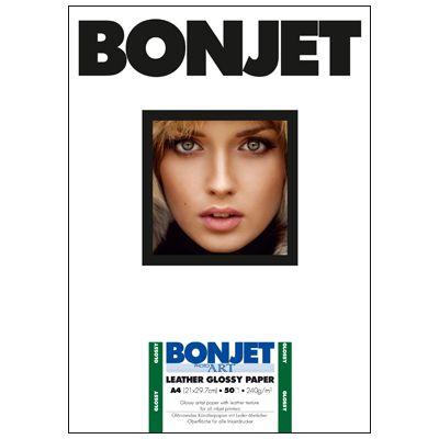 Für weitere Info hier klicken. Artikel: Bonjet PHA Leather Glossy A4 240g 50 Blatt