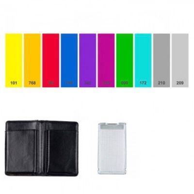 Für weitere Info hier klicken. Artikel: BounceLite Adventure Gel Kit Farbfilter (Effektfilter) und Neutralfilter für BounceLite Aufsteckblitz-Lichtformer - 10 Folien inkl. Filterkassette und Filtermappe