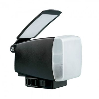 Für weitere Info hier klicken. Artikel: BounceLite Solo Multifunktions-Lichtformer für Aufsteckblitze - vereint Softbox, Bounce-Reflektor und Farbfilterhalter