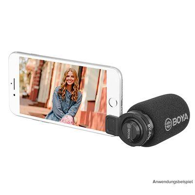 Für weitere Info hier klicken. Artikel: Boya BY-A7H cardioid Video Mikrofon für Smartphone 3.5mm