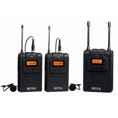 Für weitere Info hier klicken. Artikel: Boya drahtloses UHF Dual-Channel Moderator Mikrofon