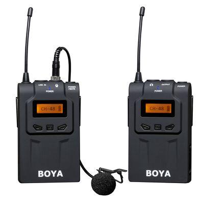 Für weitere Info hier klicken. Artikel: Boya drahtloses UHF Moderator Mikrofon