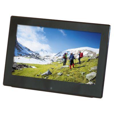 Für weitere Info hier klicken. Artikel: Braun DigiFrame 1360 LCD HD (Video+MP3) mattschwarz 13,3''