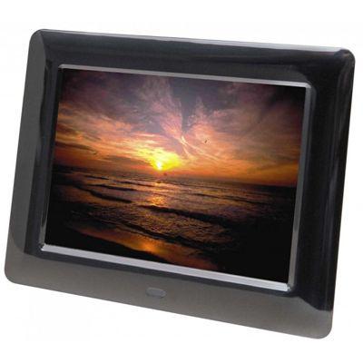 Für weitere Info hier klicken. Artikel: Braun DigiFrame 800 TFT LED (Wetterstation+Video+Mp3) schwarz 8''