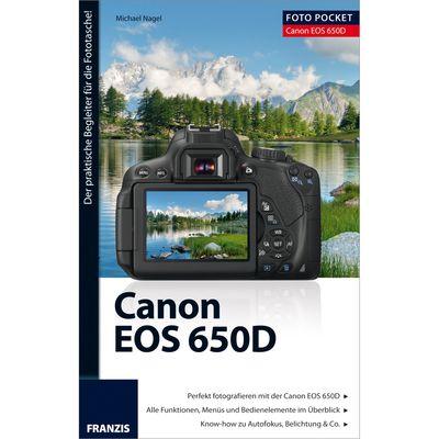 Für weitere Info hier klicken. Artikel: Kamerabuch FotoPocket Canon EOS 650D
