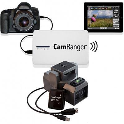 Für weitere Info hier klicken. Artikel: CamRanger Komplettset Wi-Fi Dongle+Adapter PT Hub+motorisierter Stativkopf MP-360