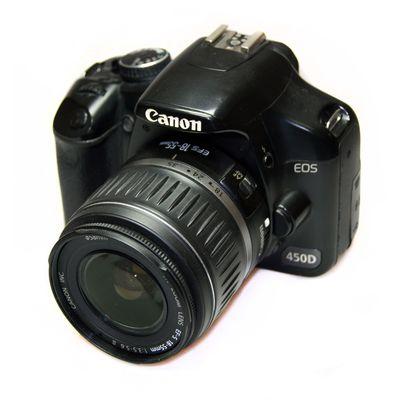 Für weitere Info hier klicken. Artikel: Canon 450D + 18-55 -G-