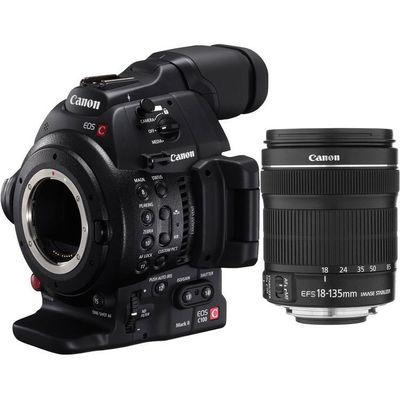 Für weitere Info hier klicken. Artikel: Canon C100 Mark II 18-135 mm Cinema EOS Camcorder