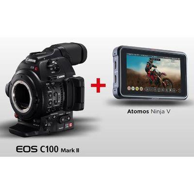 Für weitere Info hier klicken. Artikel: Canon C100 Mark II + Atomos Ninja V Kit