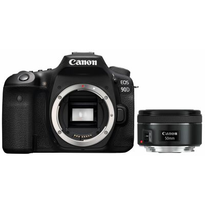 Für weitere Info hier klicken. Artikel: Canon EOS 90D + EF 50mm f/1,8 STM
