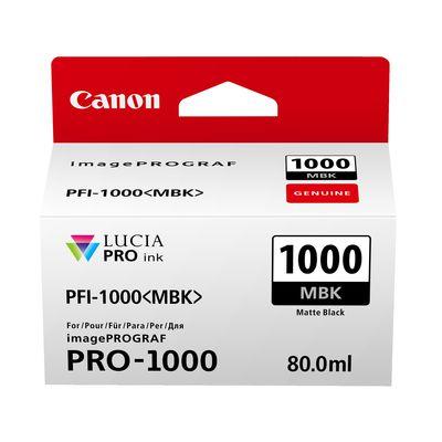 Für weitere Info hier klicken. Artikel: Canon PFI-1000MBK
