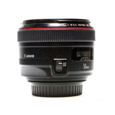 Für weitere Info hier klicken. Artikel: Canon EF 1:1,2/50mm L USM -G-