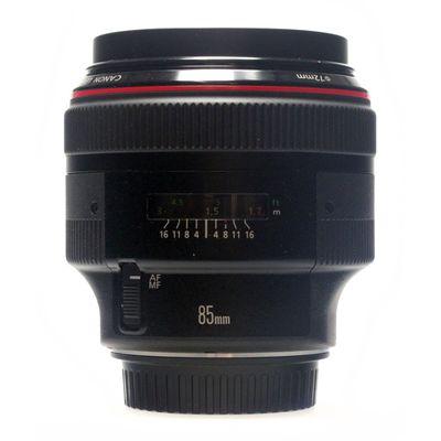 Für weitere Info hier klicken. Artikel: Canon EF 1:1,2/85mm L II -G-