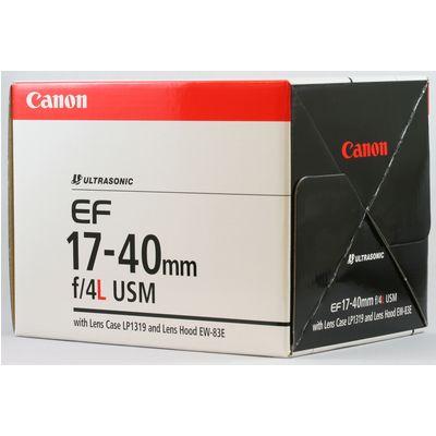 Für weitere Info hier klicken. Artikel: Canon EF 17-40mm f/4,0 L USM Canon EF