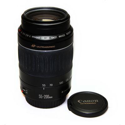 Für weitere Info hier klicken. Artikel: Canon EF 4,5-5,6/55-200mm II USM -G-