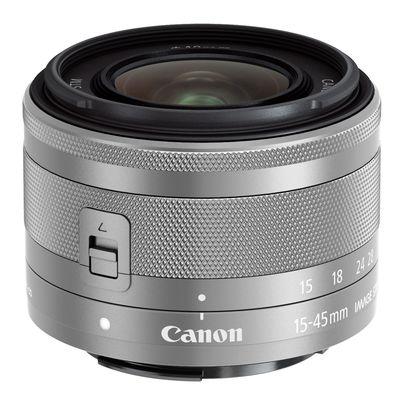 Für weitere Info hier klicken. Artikel: Canon EF-M 3,5-6,3/15-45 mm IS STM silber