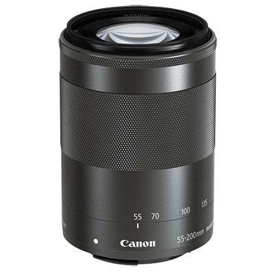 Für weitere Info hier klicken. Artikel: Canon EF-M 4,5-6,3/55-200 IS STM schwarz Canon EF-M