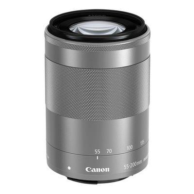 Für weitere Info hier klicken. Artikel: Canon EF-M 55-200mm f/4,5-6,3 IS STM silber Canon EF-M