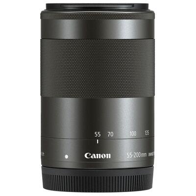 Für weitere Info hier klicken. Artikel: Canon EF-M 55-200mm f/4,5-6,3 IS STM schwarz Canon EF-M
