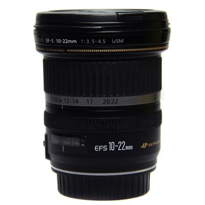 Für weitere Info hier klicken. Artikel: Canon EF-S 10-22mm f/3,5-4,5 USM Canon EF-S -Second Hand- Canon EF-S