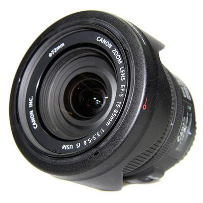 Für weitere Info hier klicken. Artikel: Canon EF-S 15-85mm f/3,5-5,6 IS USM schwarz Canon EF-S -Second Hand- Canon EF-S